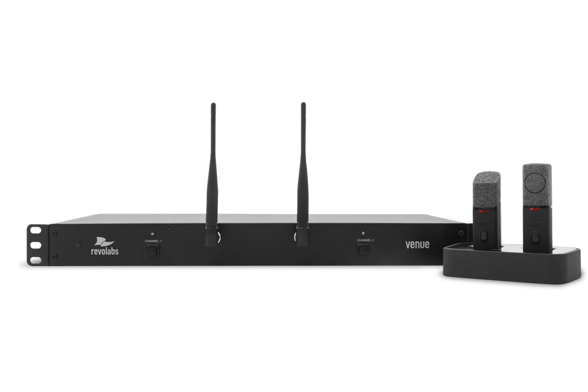 HD Wireless Microphone Systems Use Case 2