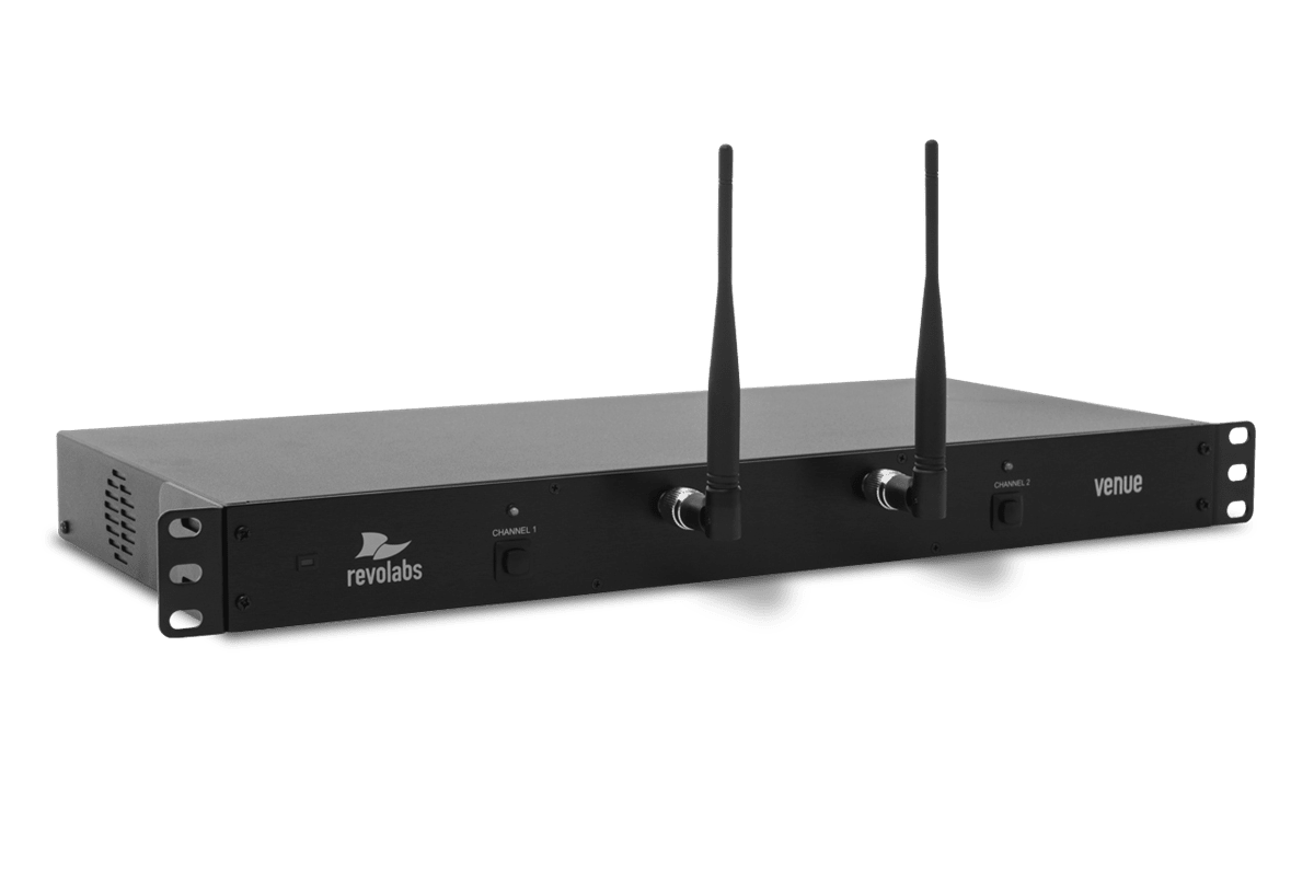 HD Venue 2 Channel Wireless Microphone System Rackmount