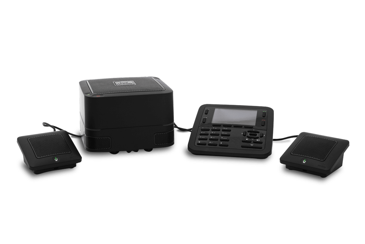 FLX UC 1500 Conference Phone, 2 Extension Mics